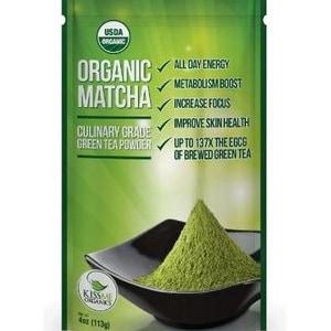 organic Matcha Tea.