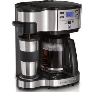 Hamilton Beach 2 Way Coffee Maker has some great advantages making it a good little coffee brewer for your business.