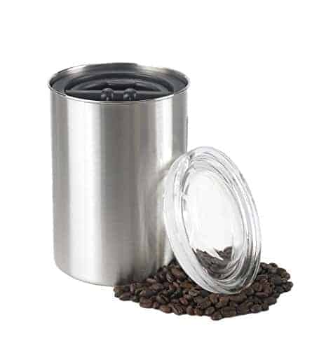 Coffee Storage Canister - Airscape Steel