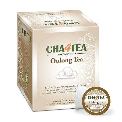 Cha4TEA 36 Oolong Tea Pods