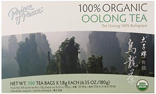 Prince of Peace Organic Oolong Tea Bags