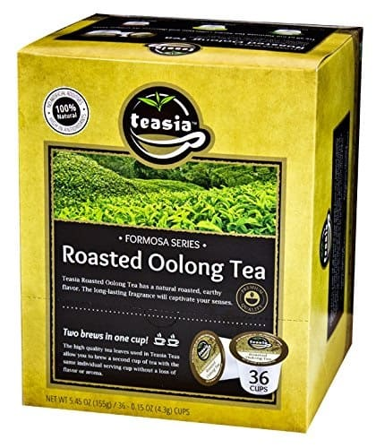 Teasia All Natural Roasted Oolong