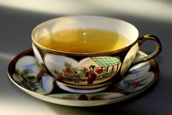 medicinal green tea
