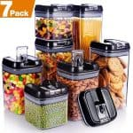 Senbowe 7 Piece Air Tight Food Storage Container