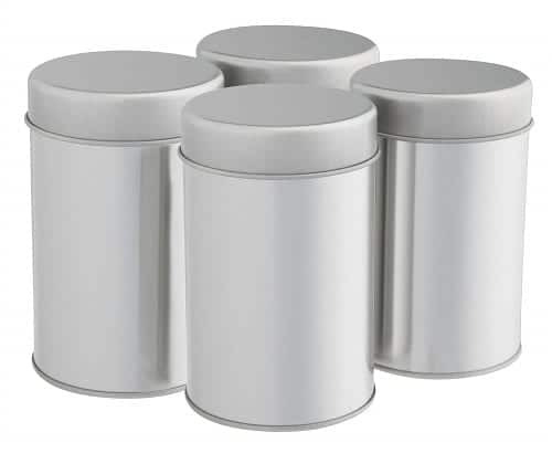 Tea Tins Canister Set - Airtight Lids for Loose Leaf Tea storage ideas