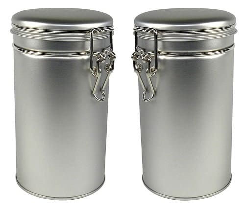 Thistle Moon Steel Loose Tea storage containers