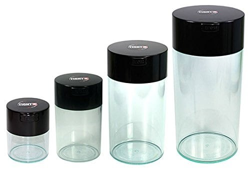 Tightvac Nested Vacuum tea storage canisters