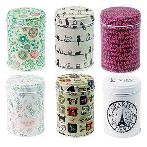 tea storage containers
