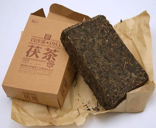 Baisha River Organic Tea Fu Tea Anhua Dark Tea