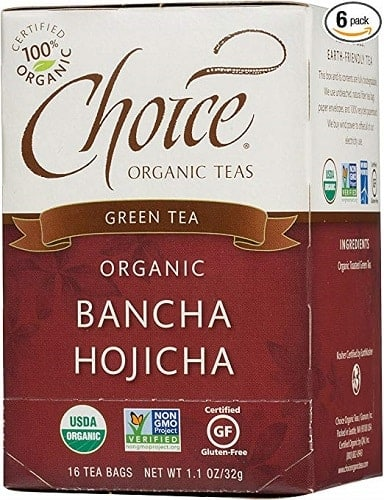 Choice Organic Green Teas Bancha Hojicha