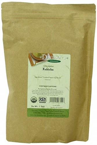Davidson's Tea Bulk, Organic Kukicha