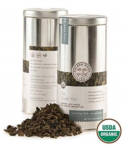 Golden Moon - Organic Oolong Loose Leaf Tea