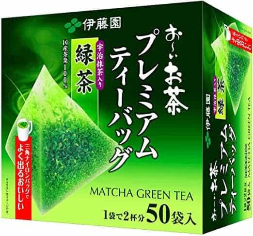 Itoen Ryokucha Green Tea Matcha Blend
