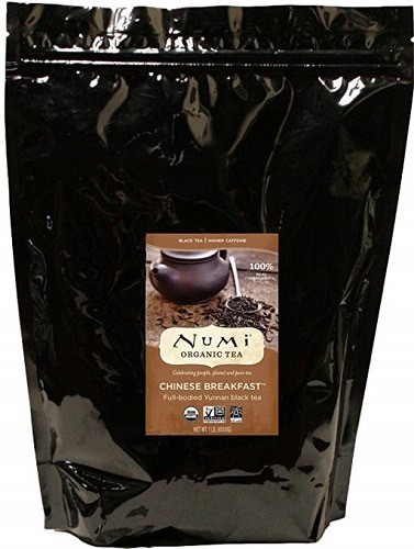Numi Organic Chinese Breakfast Loose Leaf Black Tea