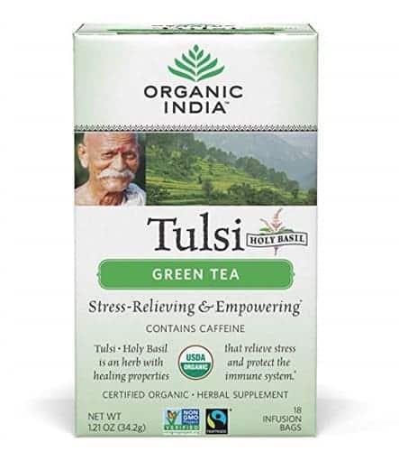 green tea in India