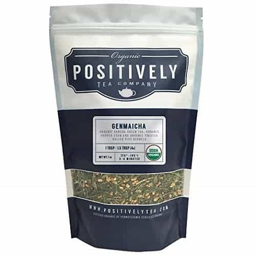 Positively Tea Company Organic Genmaicha Green Tea