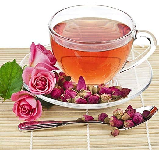 Red Rose Decaffeinated Herbal Flower Chinese Tea