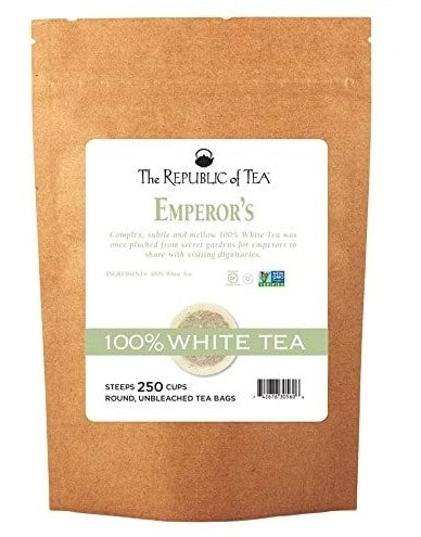 Republic of Tea Emperors Gourmet White Tea