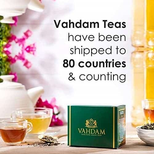 Indian spiced tea