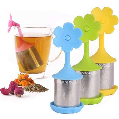 House Again 4-Pack Extra Fine Mesh Tea Infuser
