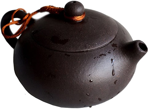 Chinese Yixing Genuine Heijingan Teapot
