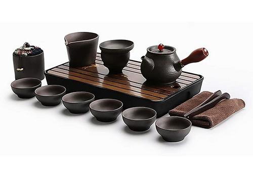 Ecomojiware Handmade Traditional Kungfu Tea Set