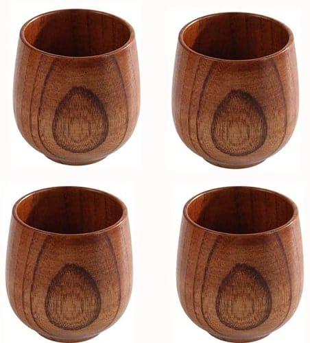 best wooden tea cups