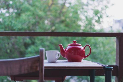 green tea calming tea