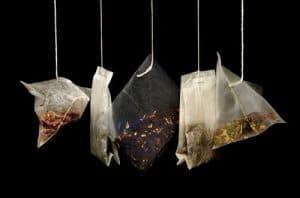 various non-caffeinated teas